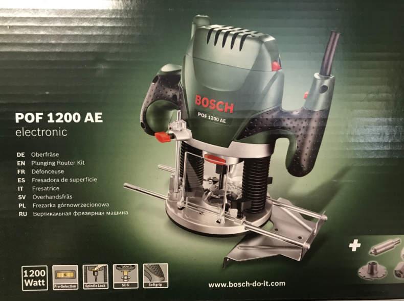 14713 Oberfräse Bosch POF 1200 AE