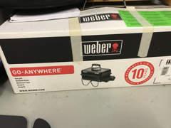 14716 Gas Grill, Weber, Go-Anywhere Black