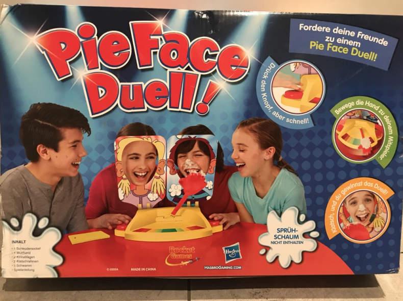 14740 Spiel: Pie Face Duell