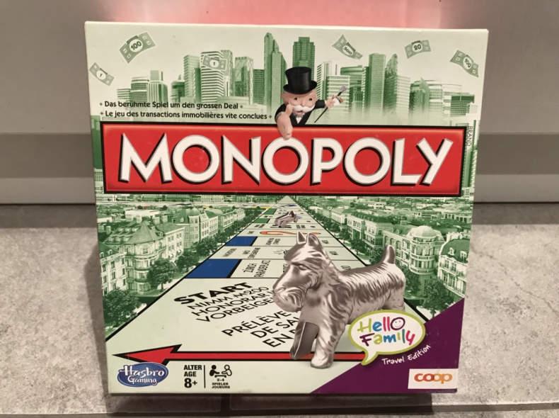 14747 Spiel: Monopoly (Reisespiel, klein)