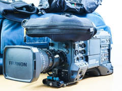 14856 Panasonic HPX 301 - Profi Camcorder