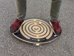 14891 Erzi Balancebrett Spiel (rund)
