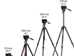 14977 Pro Videokamera Stativ Beine