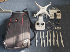 15072 Drohne DJI Phantom 4, UHD, 2 Akkus
