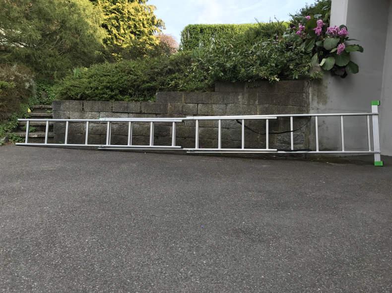 15091 Leiter (Max. Auszug 445cm)