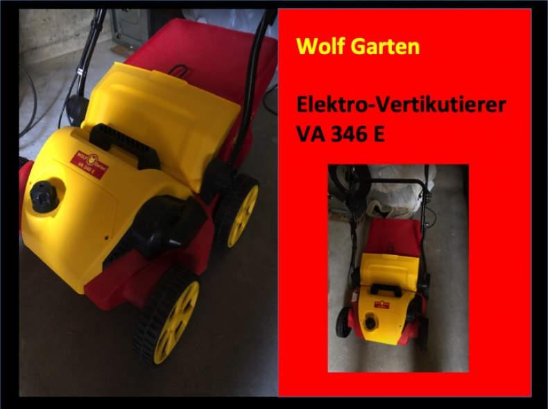 15134 Vertikutierer VA 346 E von Wolf