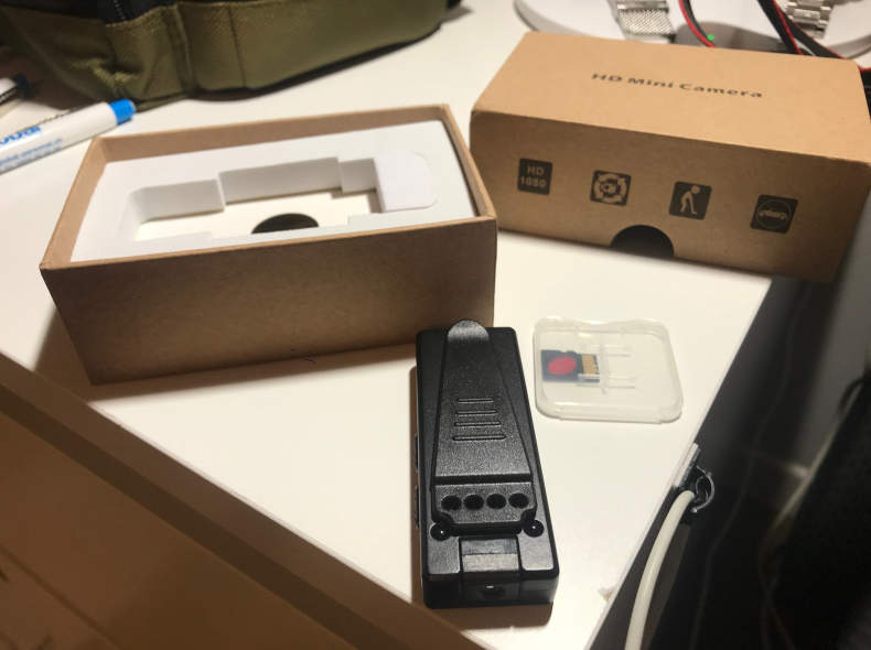 15225 Micro Video Kamera Diktiergeräte