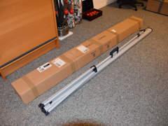 15227 Mobile Beamer-Projektionsleinwand