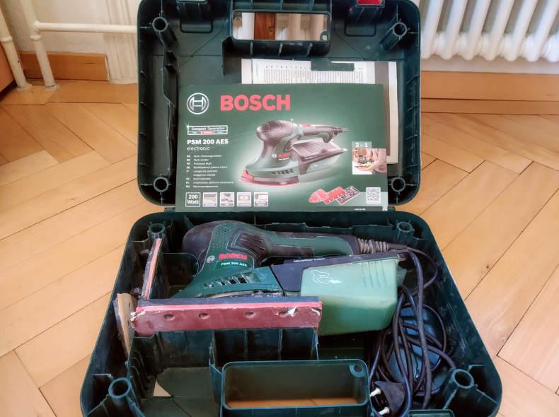15262 Bosch Schleifmaschine PSM 200 AES