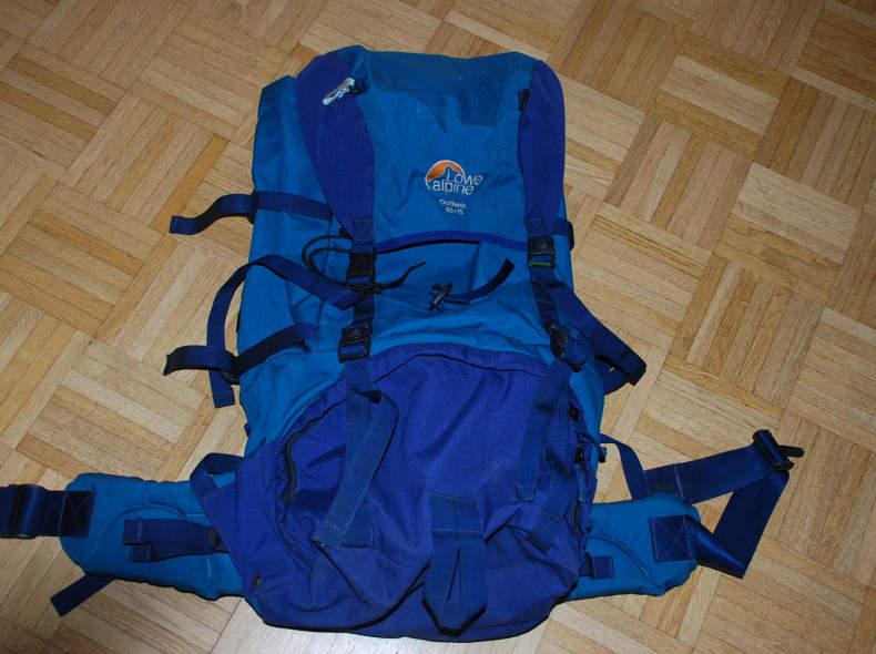 15462 Rucksack Lowe Alpine 50 + 15l