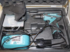 15480 Koffer mit Akkuschrauber & Werkzeug