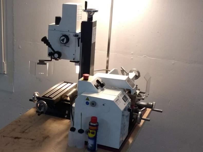 15673 Fräsmaschine und Drehmaschine