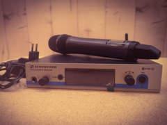 15696 Sennheiser ew500 Sender & Mikrofon