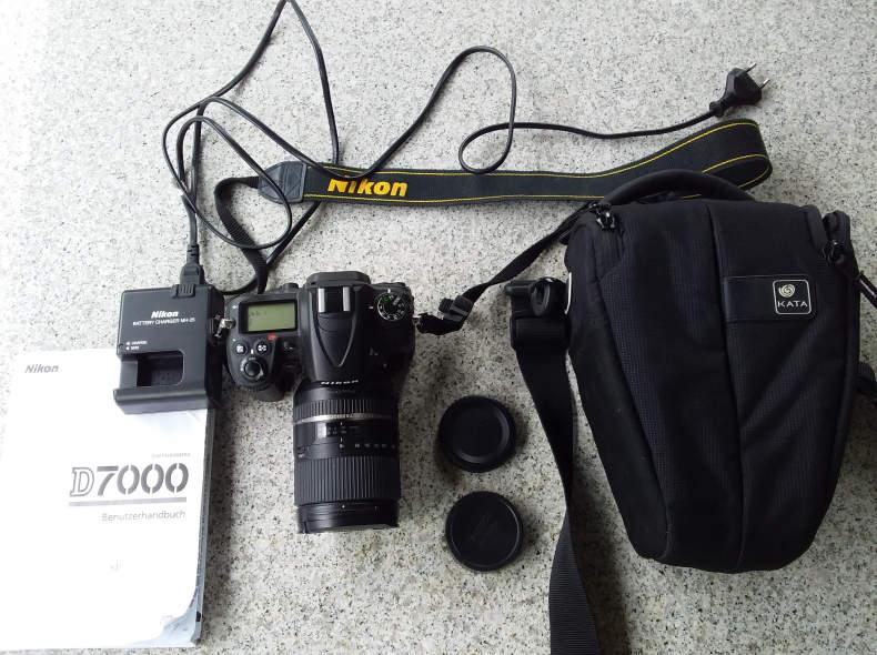15782 Kamera Nikon D7000