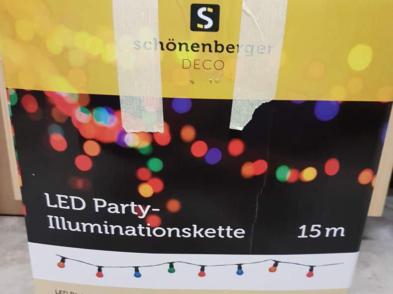 15817 LED Party Lichterkette (15m)