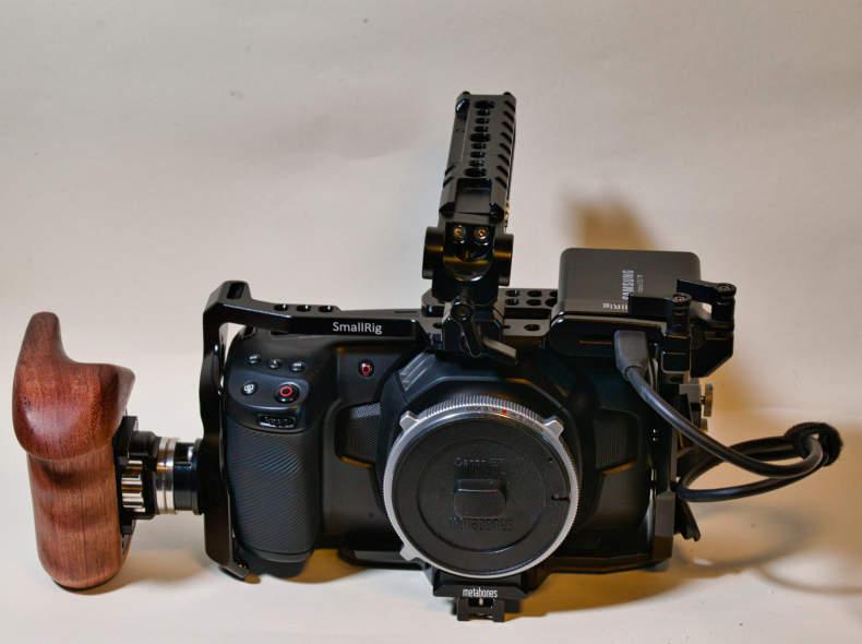 15880 BMPCC 4k Handheld Set