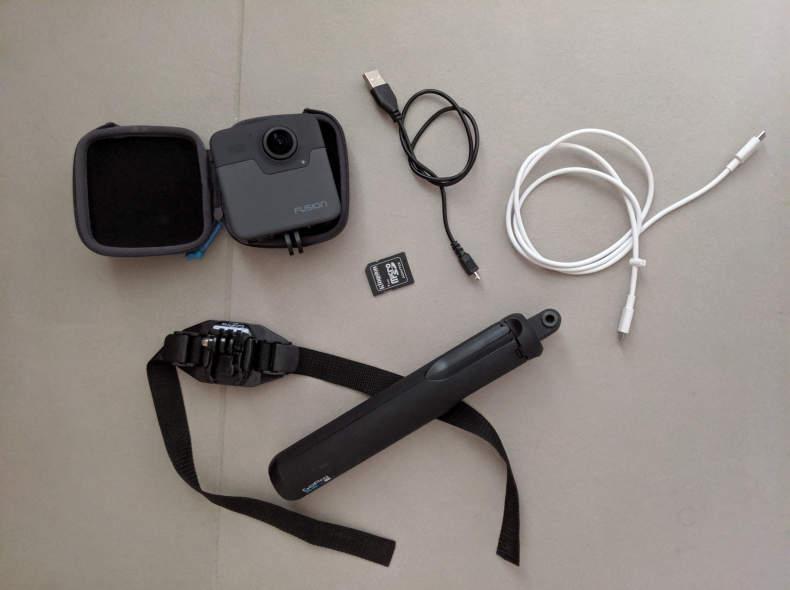 15947 GoPro Fusion kit