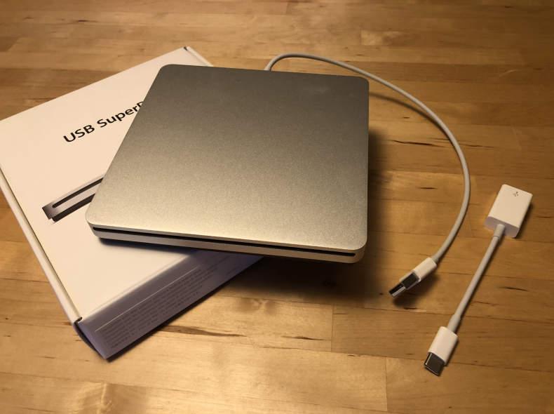 16127 Apple USB SuperDrive + USB-C