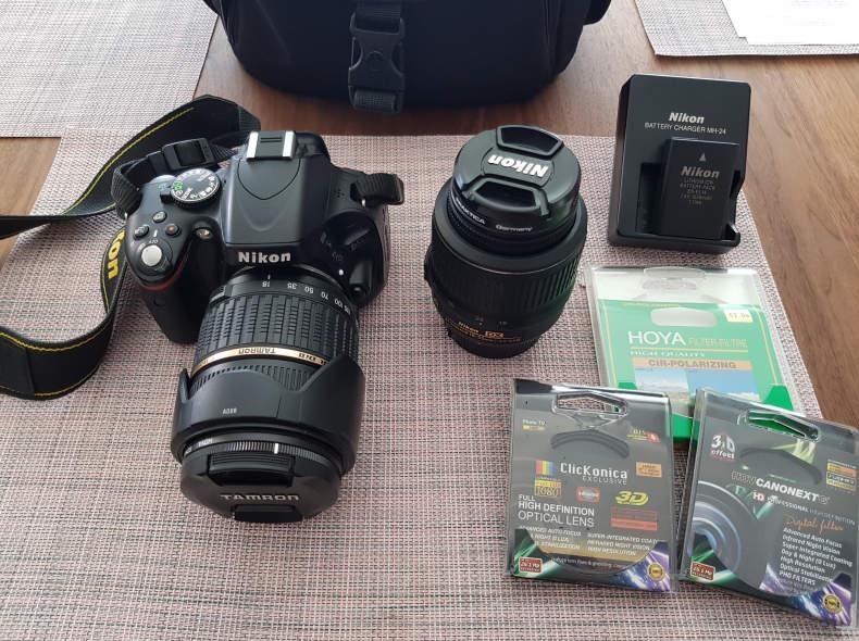 16276 Nikon D5100 mit zwei Akkus 18-2000