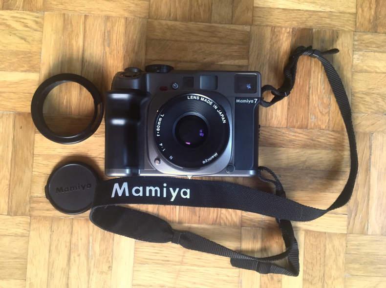 16343 Mamiya 7 Mittelformatkamera