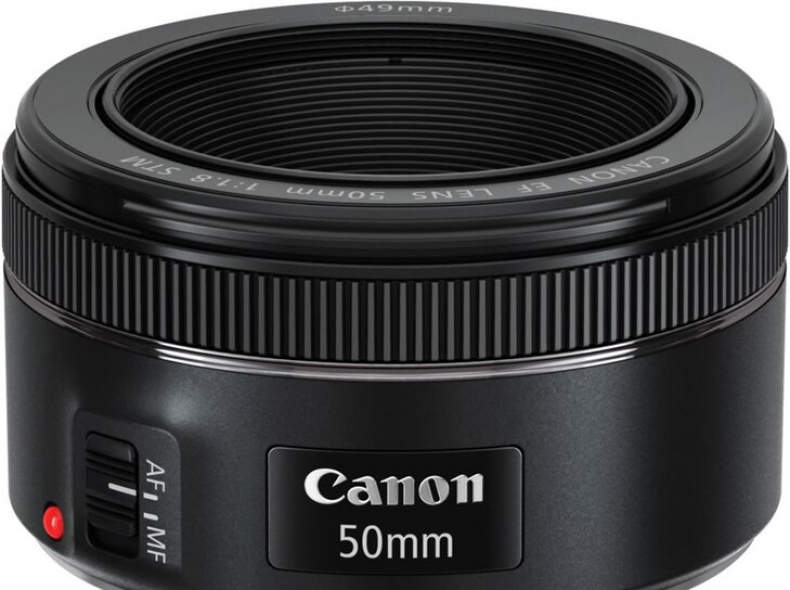 16495 Canon EF 50mm f/1.8 STM Objektiv