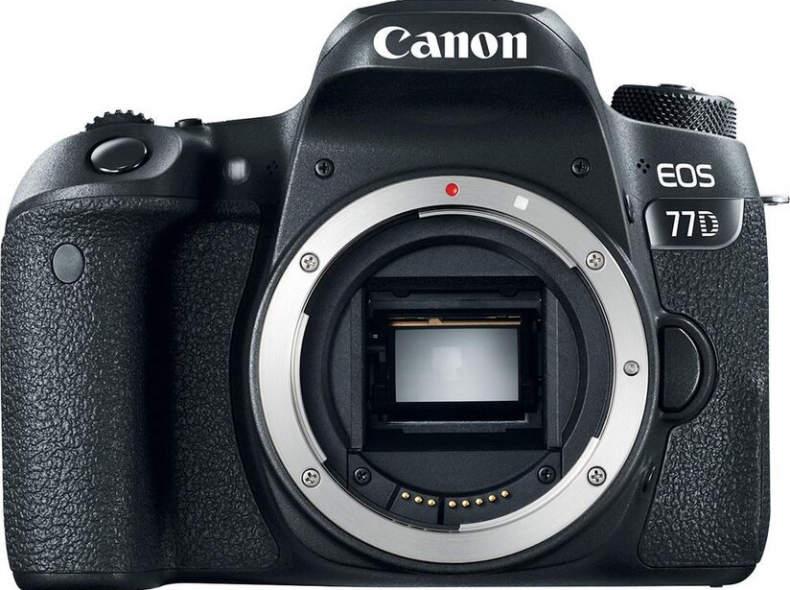 16497 Canon EOS 77D Body (ohne Linse)