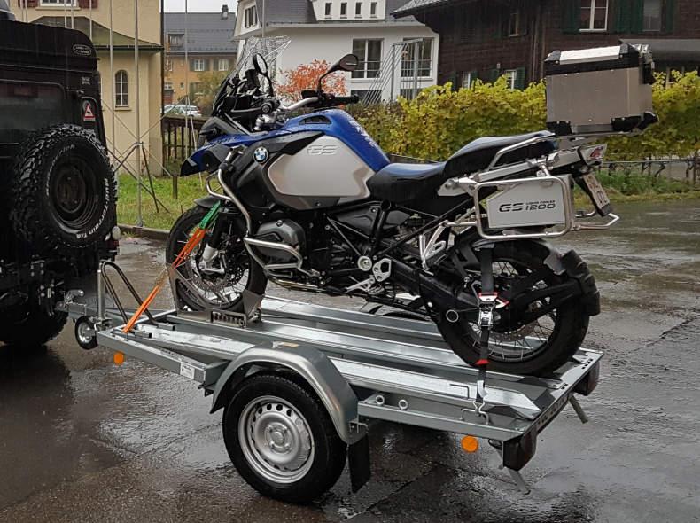 16537 Motorradanhänger