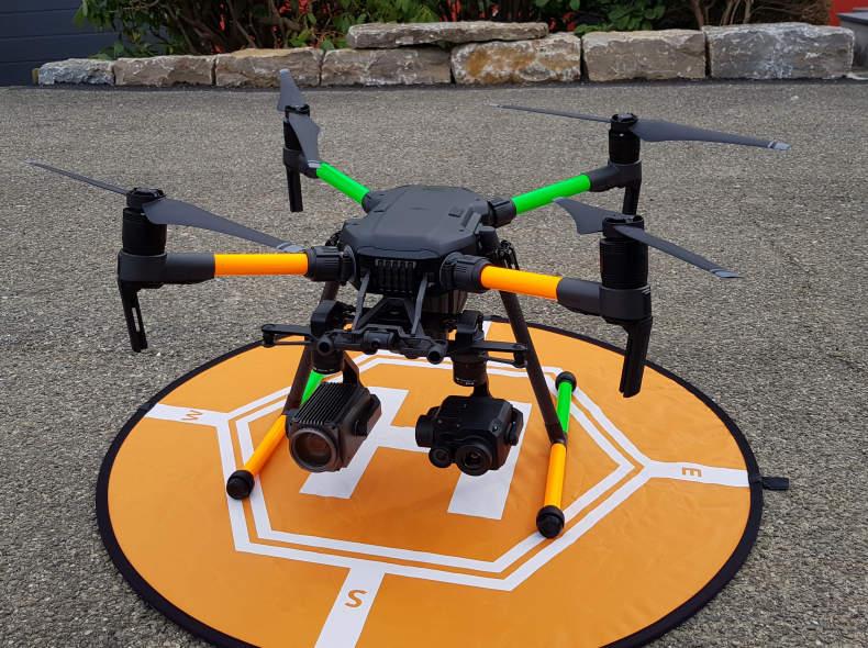 16541 DJI M210 Drohne mit Wärmebildkamera
