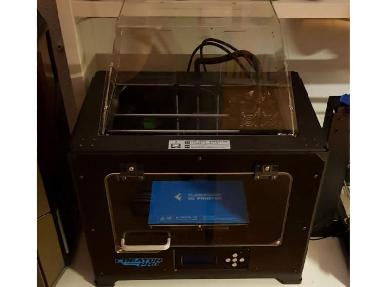 16547 3D-Printer mit 2 Druckköpfen