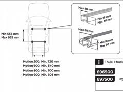 10192 Thule Motion 800 Dachbox