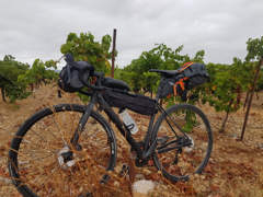 16945 Lenkertasche für Bikepacking Tour