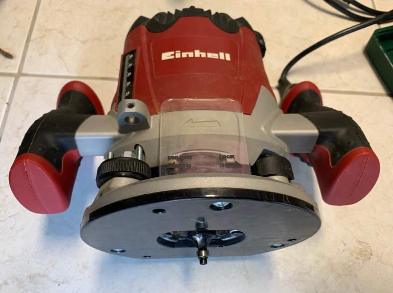 17012 Elektro Oberfräse Einhell RT-RO 55