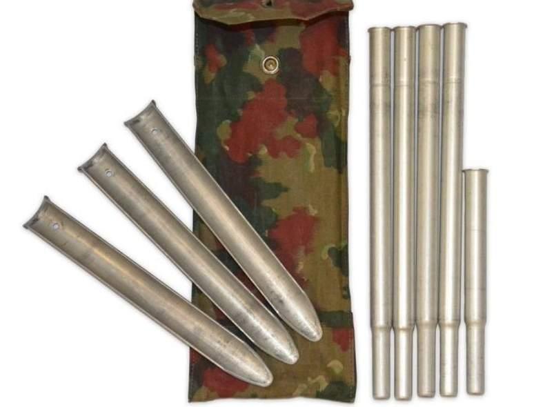 17035 Zelteinheiten 64, CH Armee, 4 Stk.