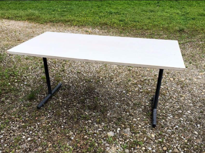 17041 Klapptisch, Arbeitstisch 80cm x 160