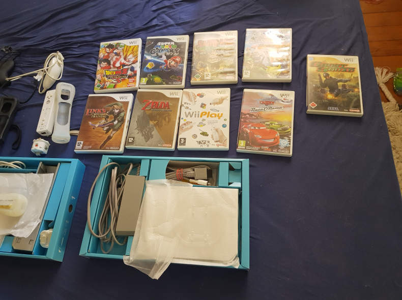 17226 Nintendo WII mit Spielen