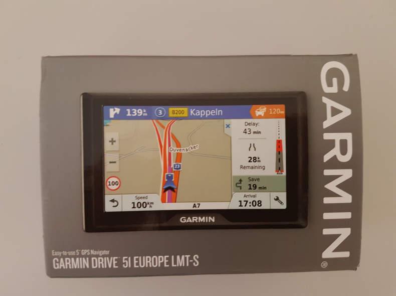17580 Navigationsgerät / Garmin Drive 5I