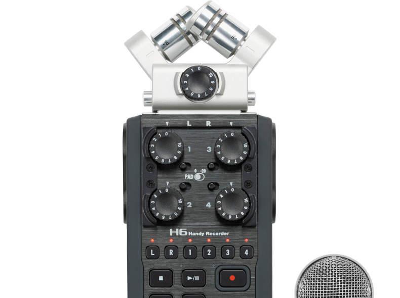 17582 Audiorecorder Zoom H6