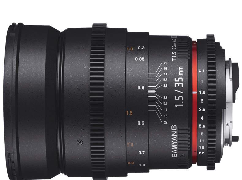 17618 Samyang  35mm T1.5 Cine für Nikon