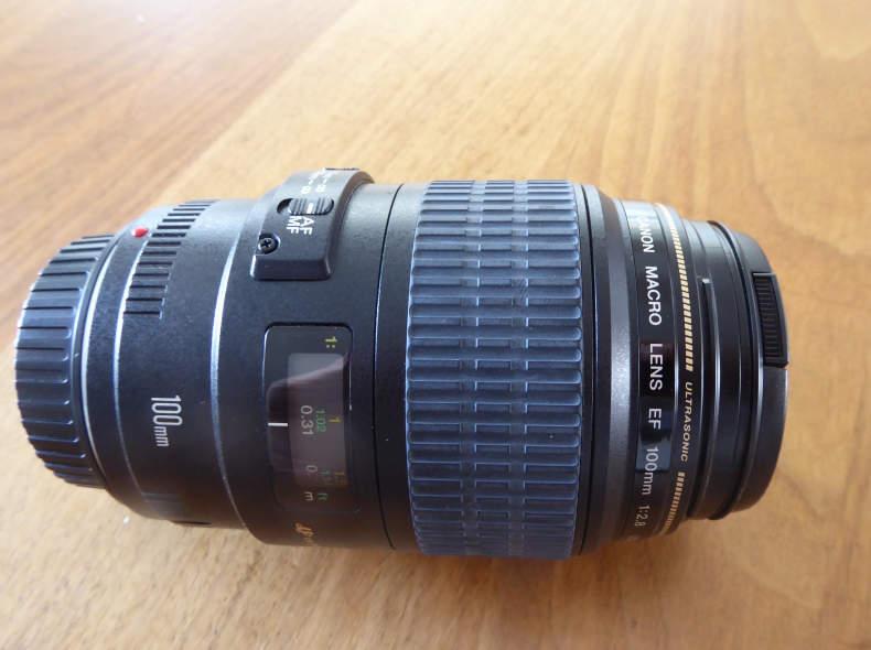 17619 Canon Makro Lens EF 100mm 1:2.8 USM