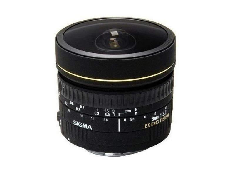 17621 Sigma 8mm 3.5 Fisheye für Nikon