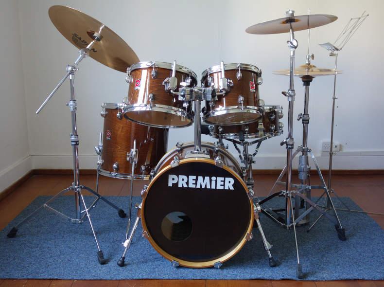 17761 Schlagzeug Premier 5-teilig kompl.