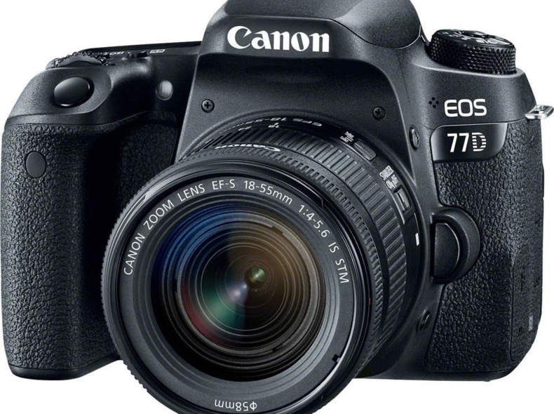 17790 Canon EOS 77D (mit Linse)