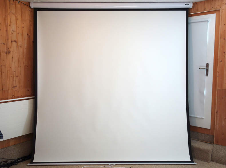 17848 Leinwand 240 x 240 cm Celexon Rollo