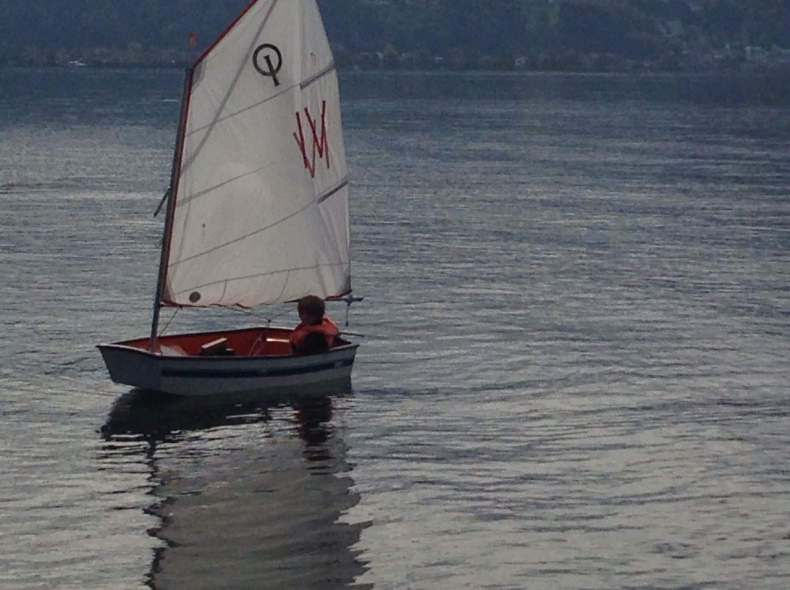 17873 Segelboot Optimist