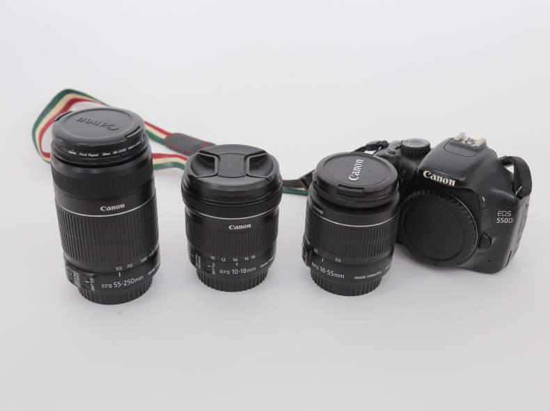 17857 Canon 550d Kit