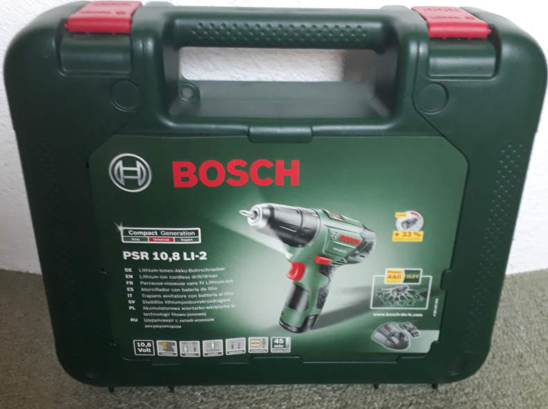 17996 Bosch Akkuschrauber