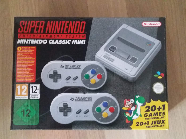 18015 Super Nintendo mini