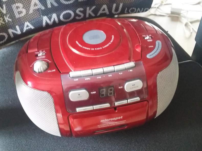 18018 Radio CD und Kassettenrecorder