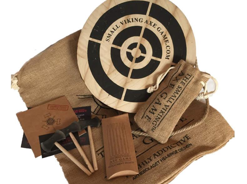 18137 Small Viking Axe Game Axtwurfspiel