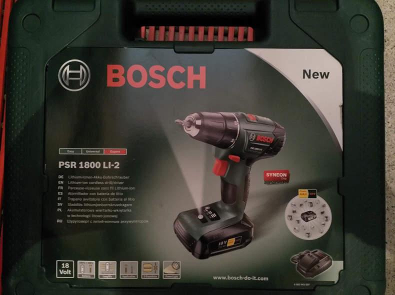 18257 Bosch Akku-Schrauber / Bohrmaschine